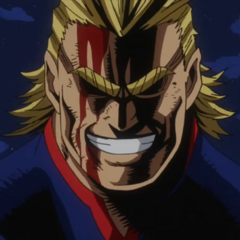 Toshinori Yagi/All Might en <a href=