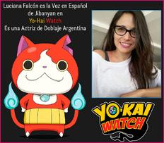 Luciana Falcón Doblaje Latino Jibanyan