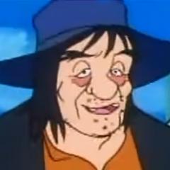 Padre de Huckleberry Finn (1ª voz) en el doblaje original de <a href=