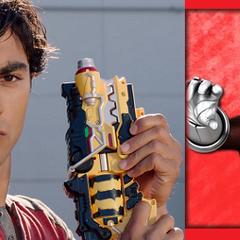 Tyler Navarro (Ranger Rojo Dino Carga) en <a href=