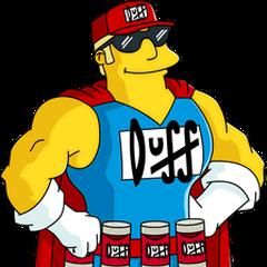 Duff Man también en <a href=