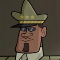 General Callahan en <a href=