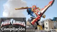 Power Rangers en Español Power Rangers Batallas de Megaforce Zord