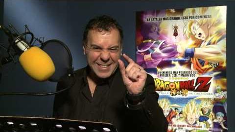 René García Voz de Vegeta invita a todo México a ver Dragon Ball Z