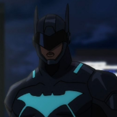 Batwing (Luke Fox) en Batman: Mala Sangre.
