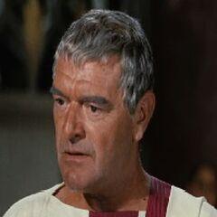 Quinto Arrios en <i><b>Ben-Hur</b></i> (Película de 1959, 1er redoblaje).