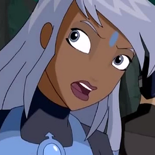 Melosa, personaje principal, como <a href=