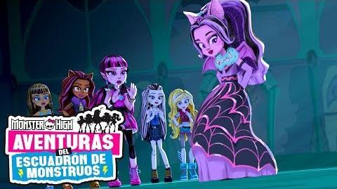 Conozcan al Escuadrón de Monstruos Aventuras del Escuadrón de Monstruos Monster High