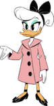 Daisy Duck Transparent