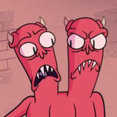 Monstruo de dos cabezas también en <a href=