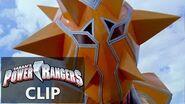 Power Rangers en Español ¡Power Rangers SPD contra Krybots Cabeza de Naranja!