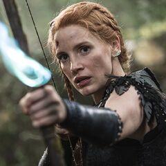 Sara, la guerrera en <a href=