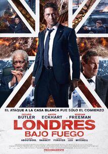 Londres bajo fuego poster final