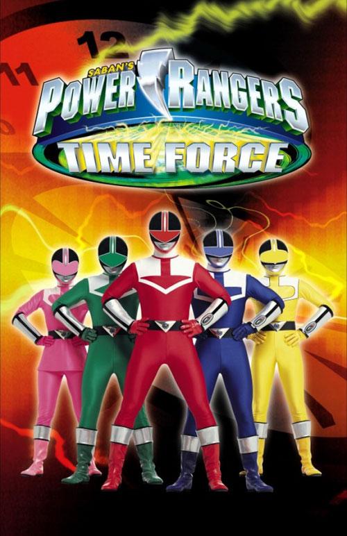 Resultado de imagen de time force power rangers