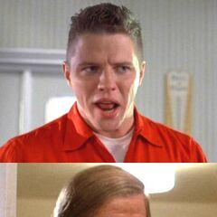 Biff Tannen en la primera película de <a href=