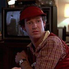 Dave McFly en la primera película de <a href=
