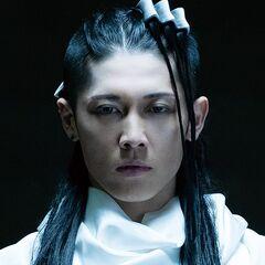 Byakuya Kuchiki en el Live accion de <a href=