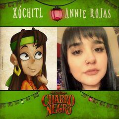 Xochilt y Annie Rojas.
