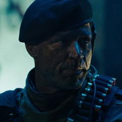 General Olsen en la versión de Sony de <a href=