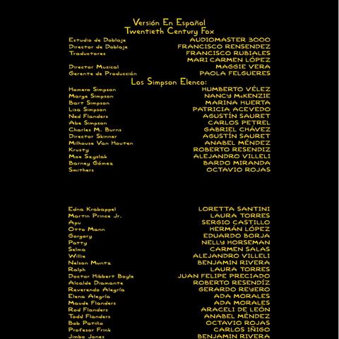 Créditos del Doblaje (Ep. 1)