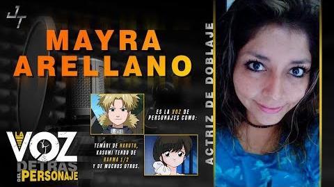Mayra Arellano, Actriz de Doblaje- Personajes de Mayra Arellano