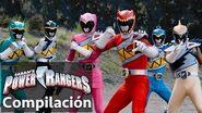 Power Rangers en Español Momentos impresionantes de Dino Super Charge