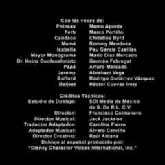Créditos de doblaje de la segunda temporada (excepto episodios 59 a 64).