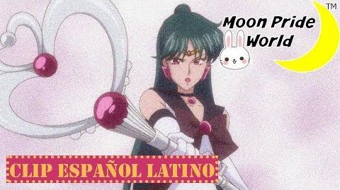 Sailor Moon Crystal - Acto 19 El tunel del tiempo Sailor Pluto Español Latino