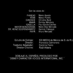 Créditos del doblaje de la primera y segunda temporadas excepto episodios 59 a 64 (reedición en HD)