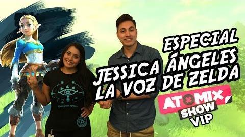 AtomixShowVIP – Especial con Jessica Ángeles, la voz de Zelda
