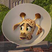 Melman Bebé de Madagascar 2
