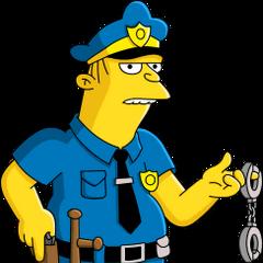 Policía Eddie también en <a href=