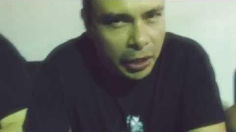 Saludo de Pepe Vilchis (Voz de Neji Hyuga)