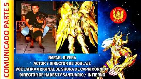 Comunicado del actor de doblaje Rafael Rivera para los fans de LatinoAmerica