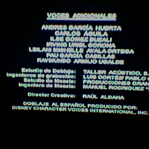 Créditos de la TV (2)