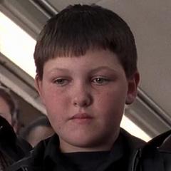 Hermano mayor en el tren en <a href=