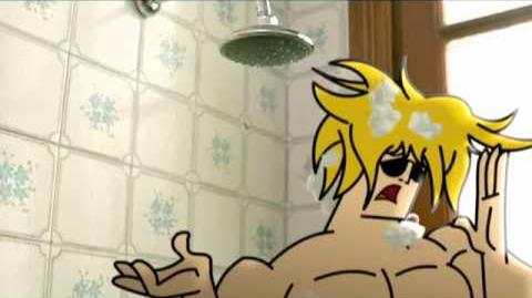 Johny Bravo de Cartoon Network y UNICEF