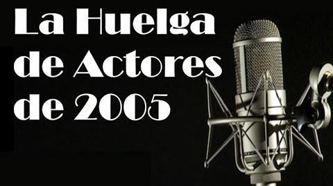 La huelga de actores de 2005