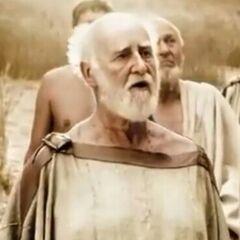 Anciano miembro del consejo en <a href=
