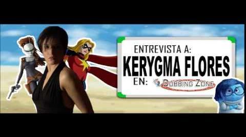 Entrevista a Kerygma Flores en Dubbing Zone