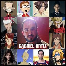 Gabriel Ortiz - Doblaje tripiante