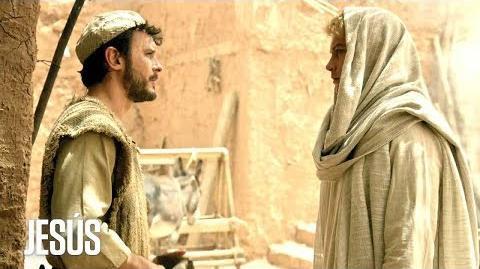 Jesús Gabriel aparece ante José para decirle que María es la virgen que dará a luz a Jesús
