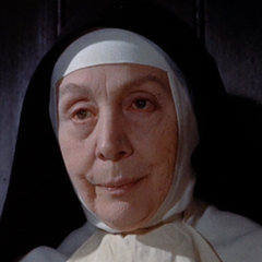 Reverenda Madre Emmanuel (Edith Evans) en <a href=