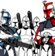 Color arc trooper line art by gman963-d6fha10