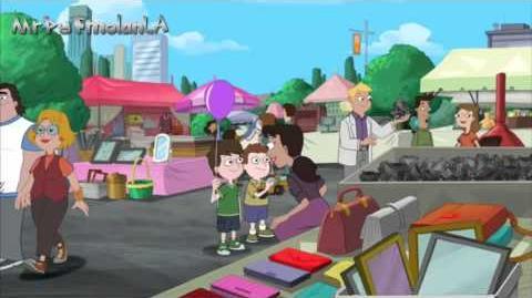 Phineas y Ferb - Mercado de pulgas HD
