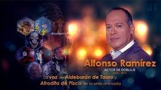 Homenaje a Alfonso Ramírez