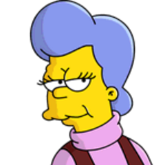 Mona Simpson (<i>1 episodio</i>) en <a href=