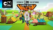 Piedra, papel o tijera Ninjin para todas partes Cartoon Network
