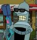 Bender asesino en la gran pelicula de bender