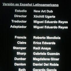 Créditos de doblaje de la 2.ª temporada - Episodio 38